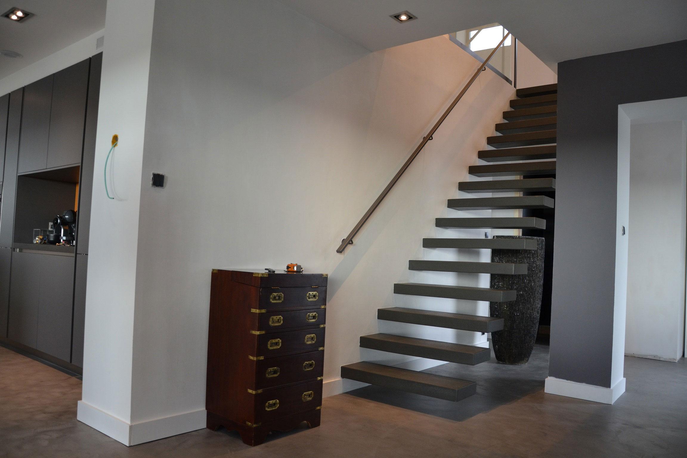 ESCALIERS INTÉRIEURS DROITS - Billiet - Escaliers d\'art & Industriels