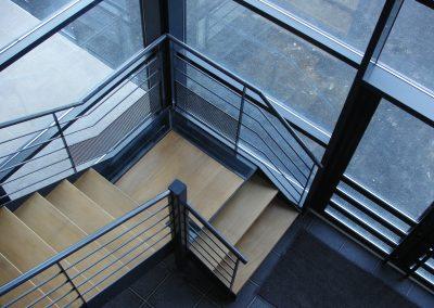 Escaliers intérieurs quart tournant (45)