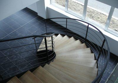 Escaliers intérieurs balancés (88)